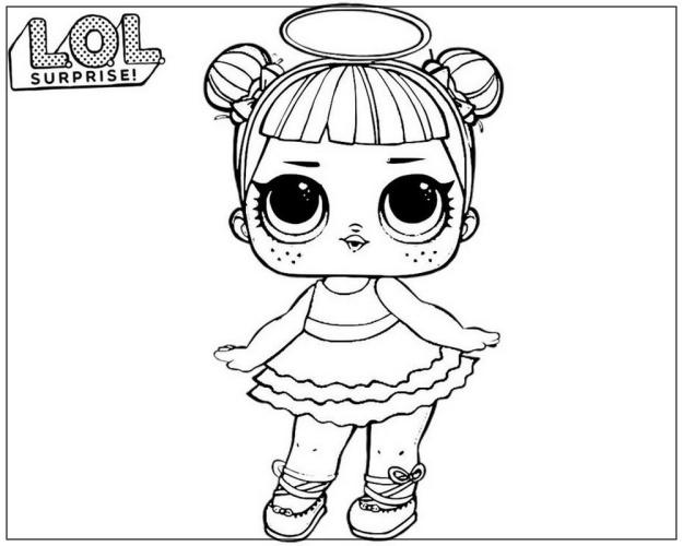 Дивные и совершенные раскраски куклы лол